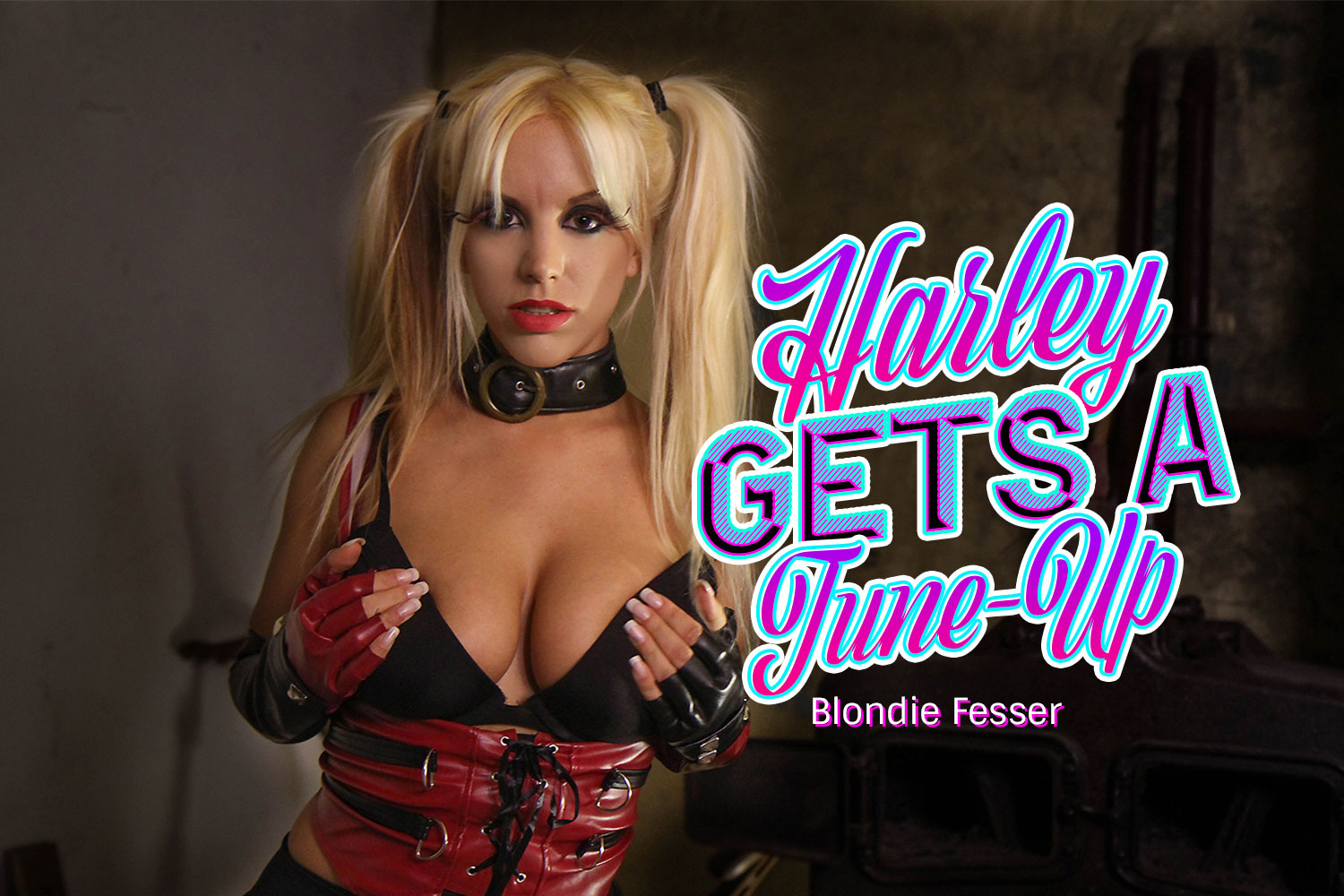 Harley Gets A Tune-Up VR Porn Video