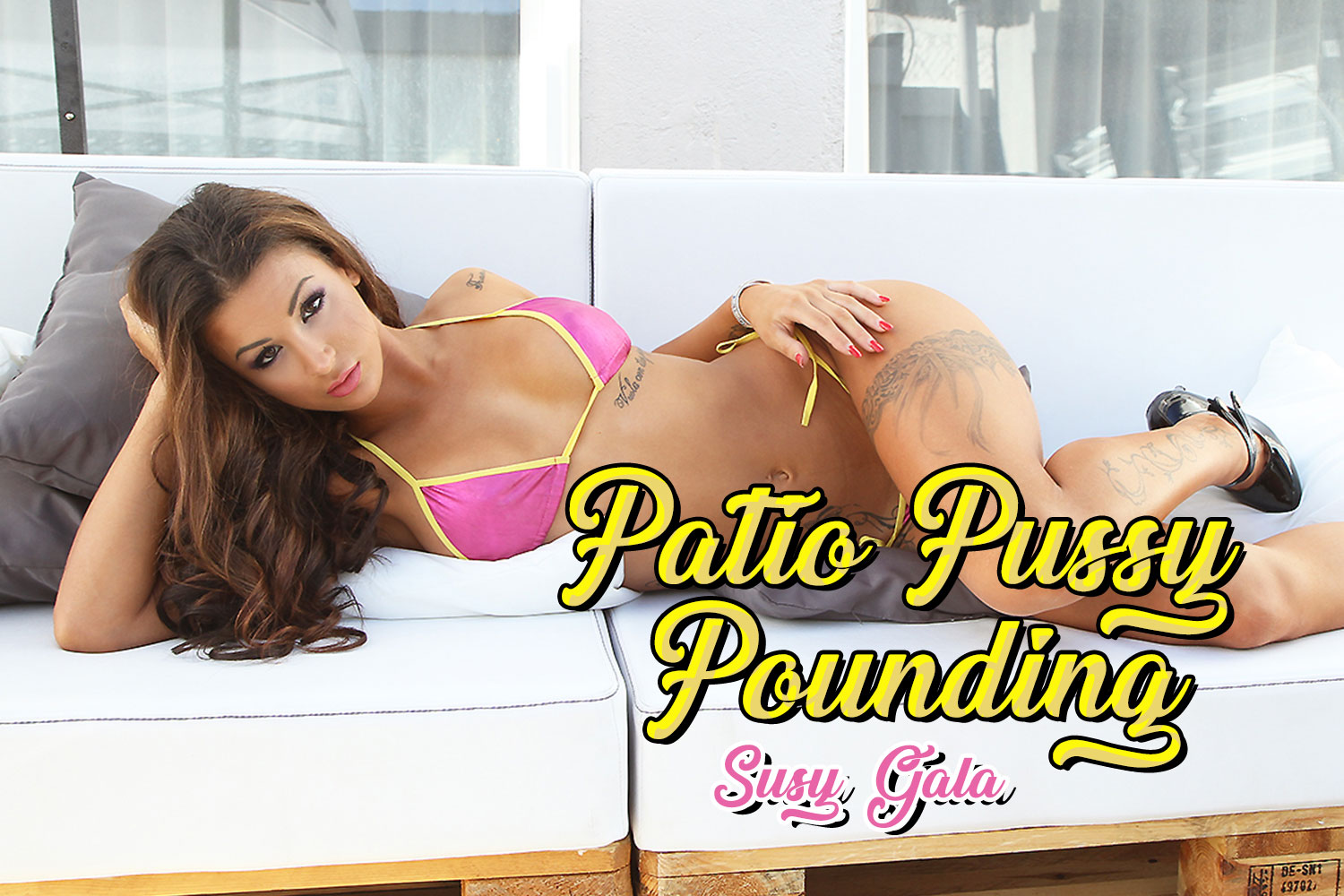 Patio Pussy Pounding VR Porn Video