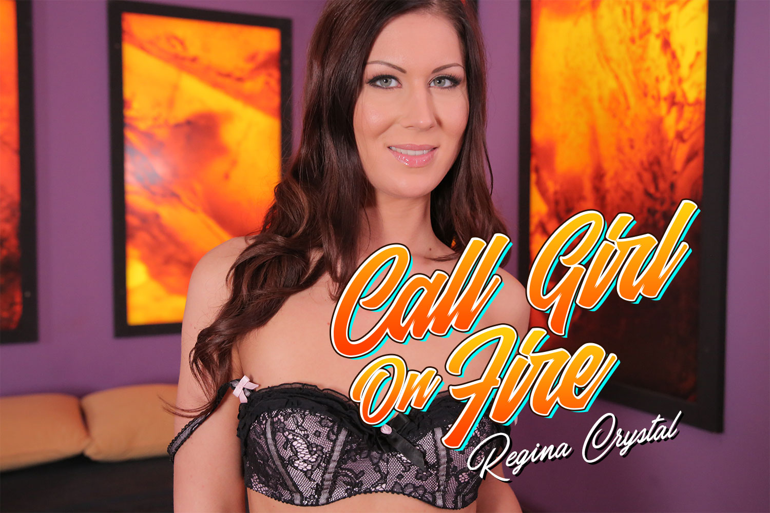 Call Girl On Fire VR Porn Video