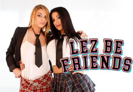 Lez Be Friends VR Porn Video