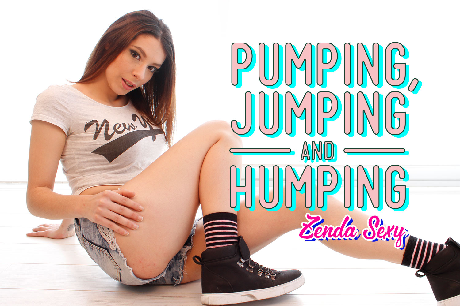 Pumping, Jumping and Humping VR Porn Video