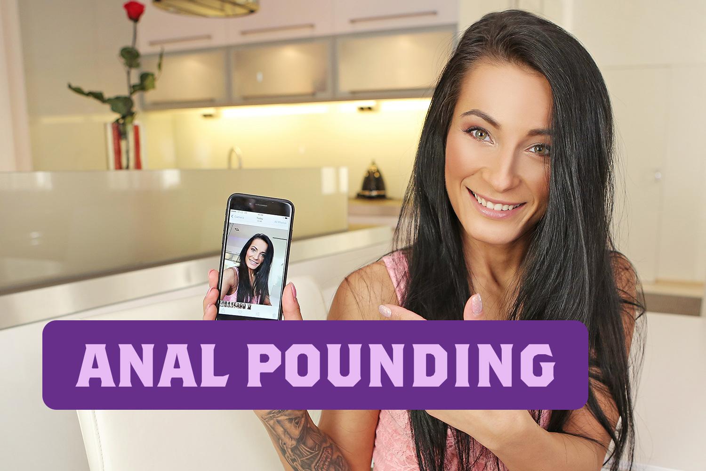 Anal Pounding VR Porn Video