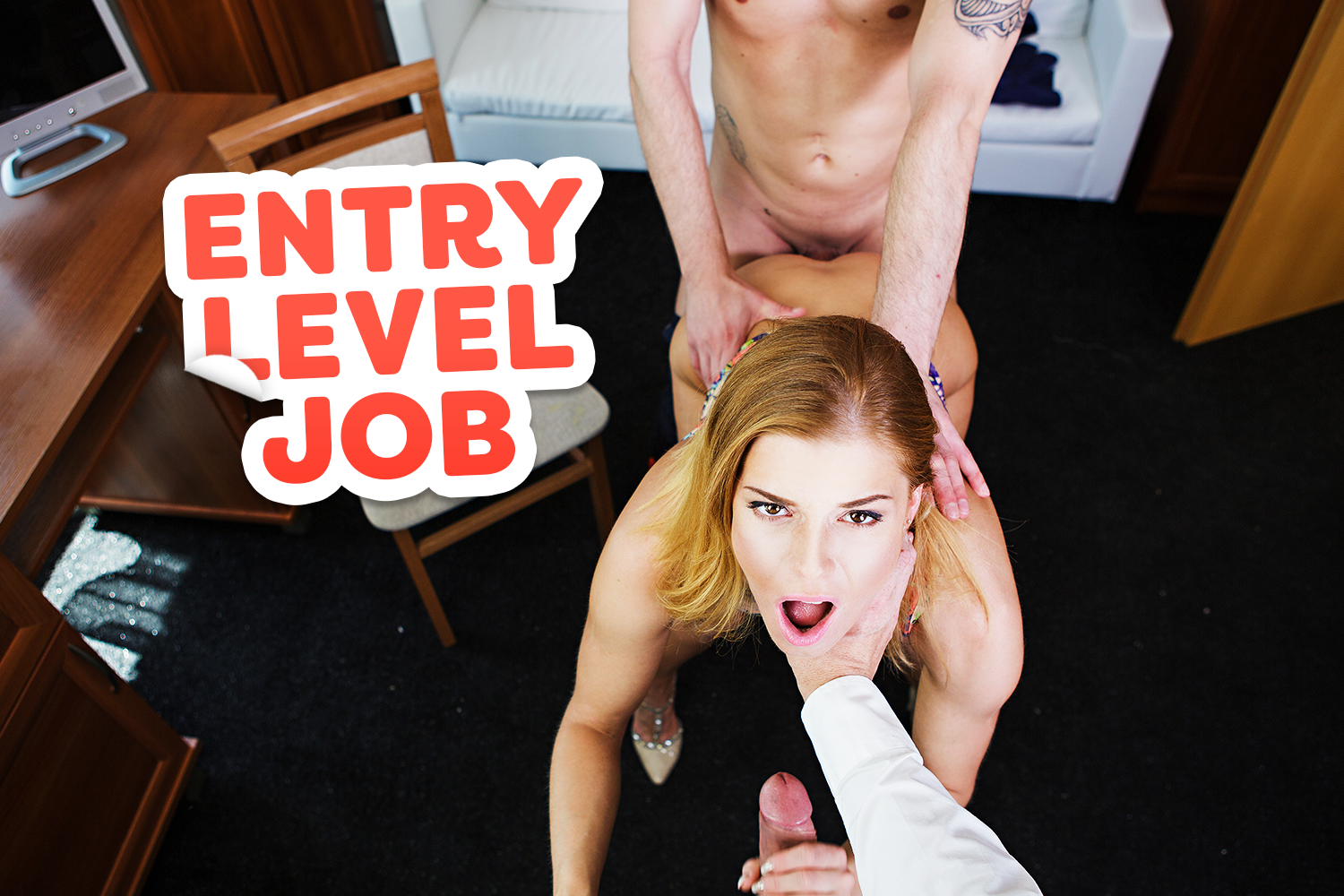 Entry Level Job VR Porn Video