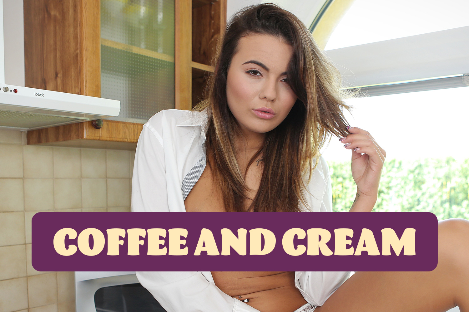 Coffee and Cream VR Porn Video