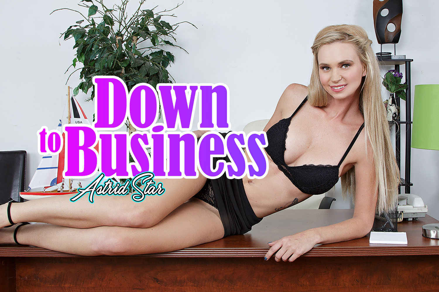 Down To Business VR Porn Video