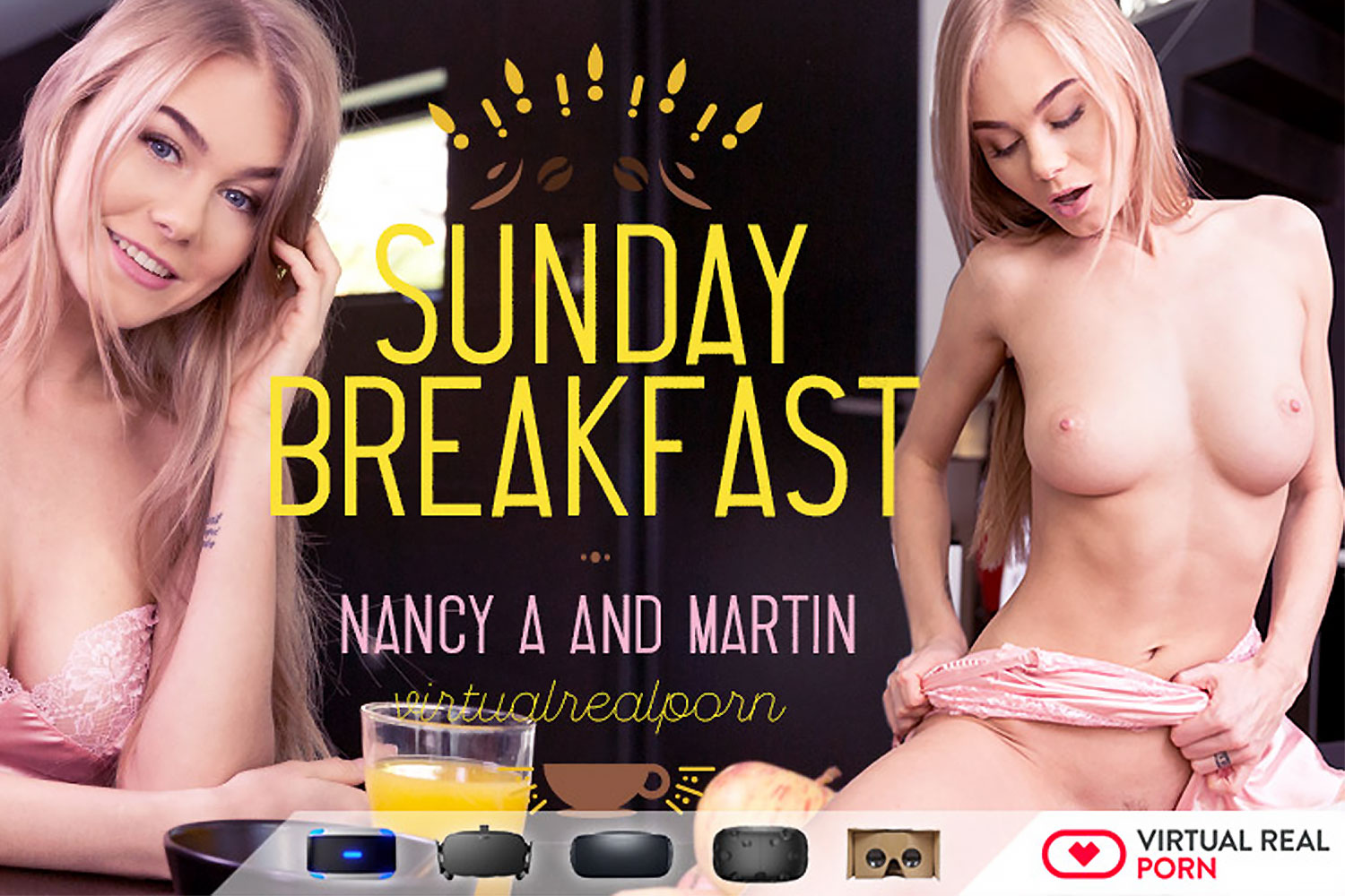 Sunday Breakfast VR Porn Video