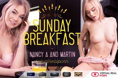 Sunday Breakfast VR Porn Video
