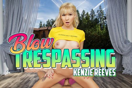 Blow Trespassing VR Porn Video
