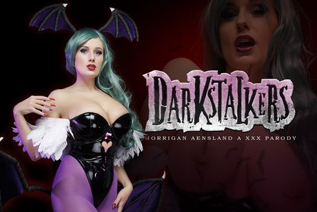Darkstalkers: Morrigan Aensland A XXX Parody VR Porn Video