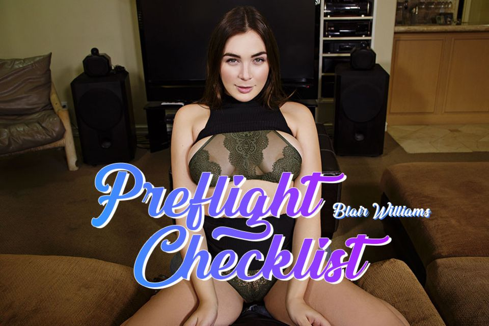 Preflight Checklist VR Porn Video