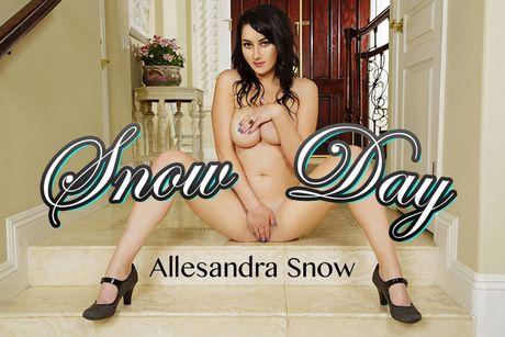 Snow Day VR Porn Video