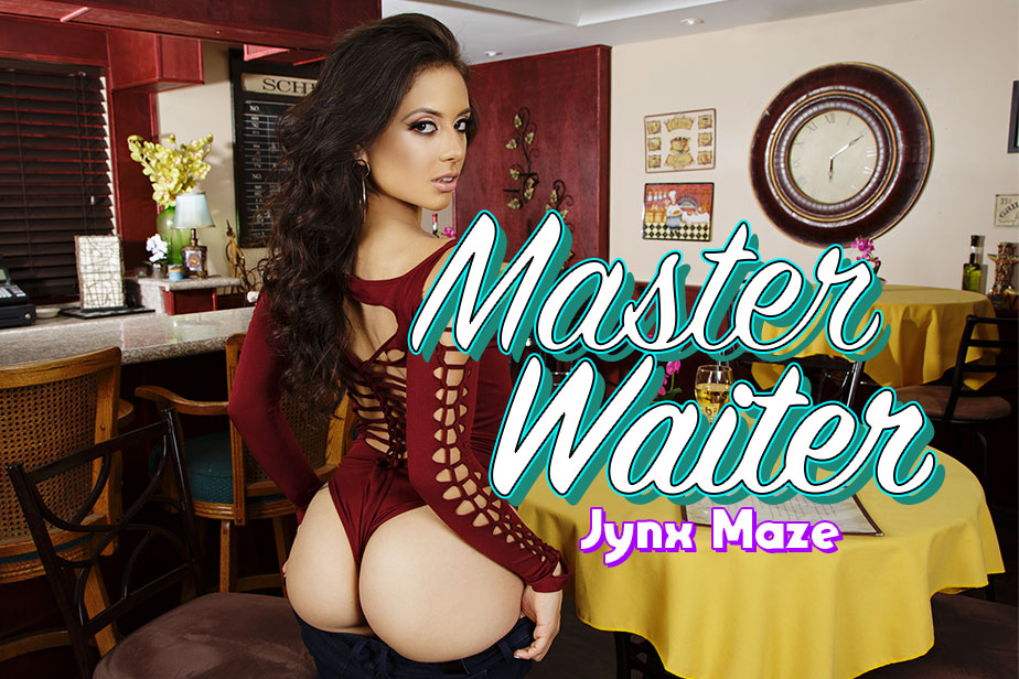 Master Waiter VR Porn Video