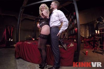 Maitresse Madeline's Femdom Cuckolding VR Porn Video