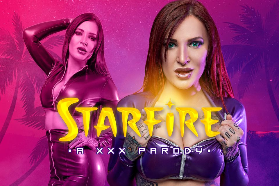 Starfire A XXX Parody VR Porn Video