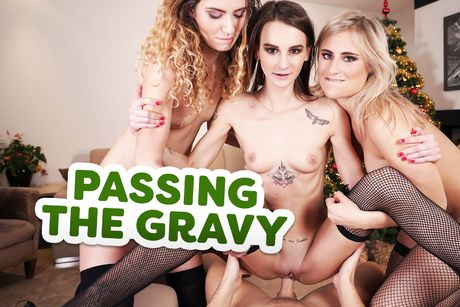 Passing the Gravy VR Porn Video