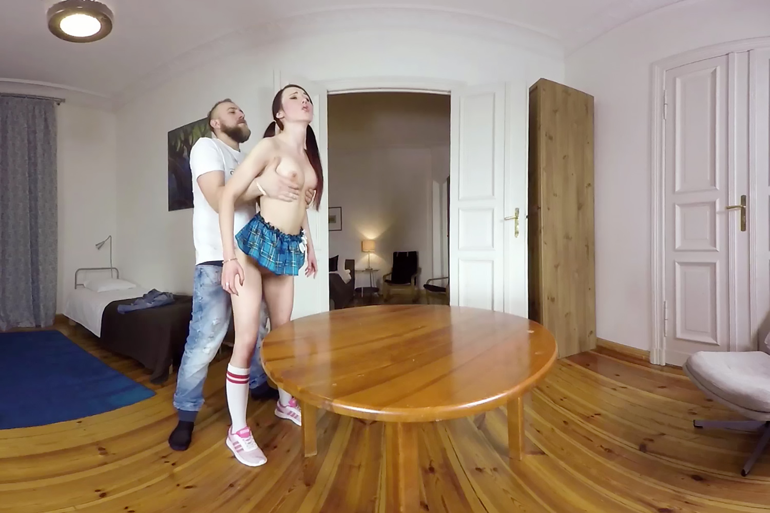 Breakfast on the Table VR Porn Video