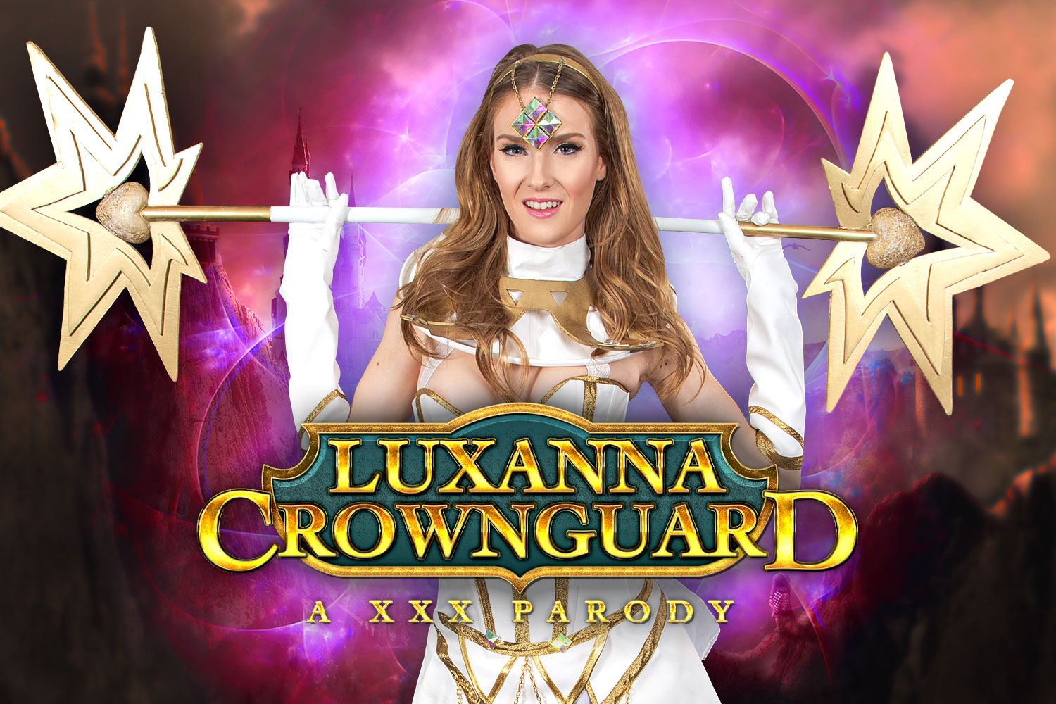 Luxana Crownguard A XXX Parody VR Porn Video