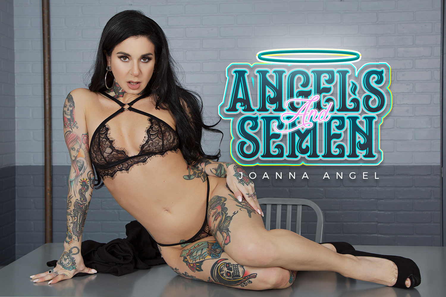 Angels and Semen VR Porn Video