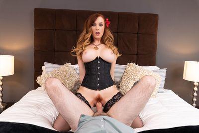 Redhead Star VR Porn Video