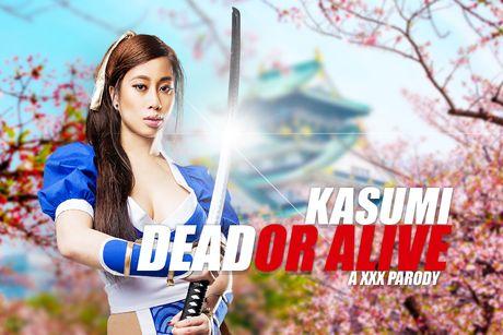 DOA: Kasumi A XXX Parody VR Porn Video
