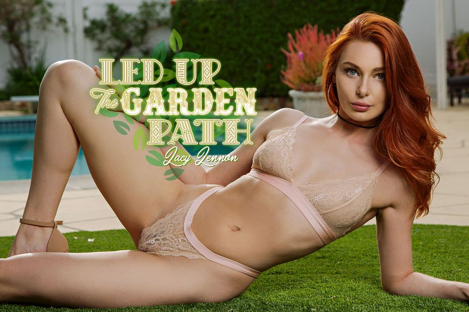 Led Up The Garden Path VR Porn Video