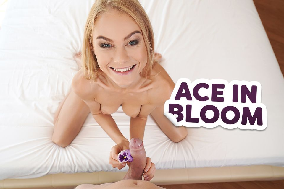 Ace in Bloom VR Porn Video