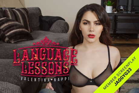Language Lessons VR Porn Video