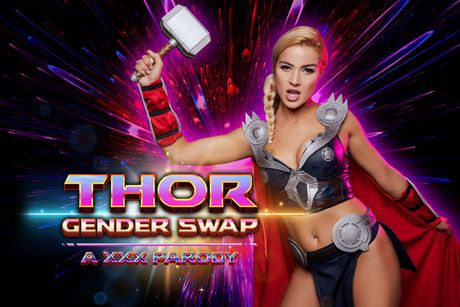 Thor A XXX Parody Gender Swap VR Porn Video