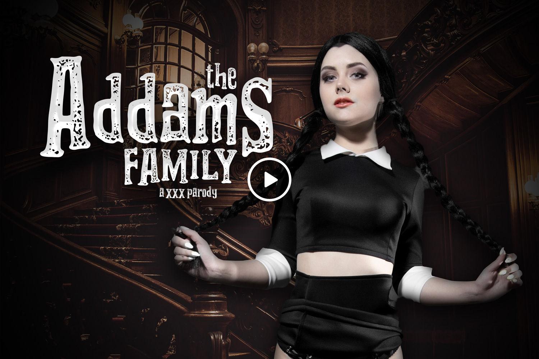 Addams Family Porn the addams family a xxx parody - vr cosplay porn video