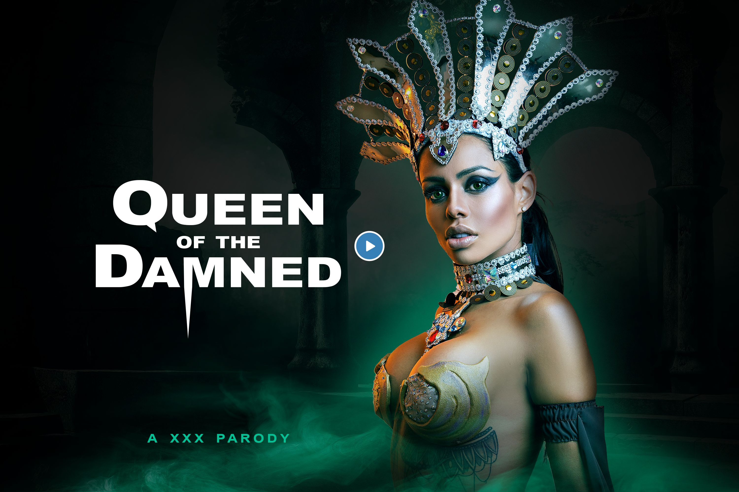 Canelaskin Porn queen of the damned a xxx parody - vr cosplay porn video