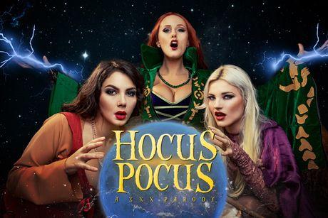 Hocus Pocus A XXX Parody VR Porn Video