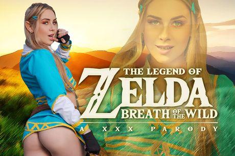 Zelda: Breath of the Wild A XXX Parody VR Porn Video