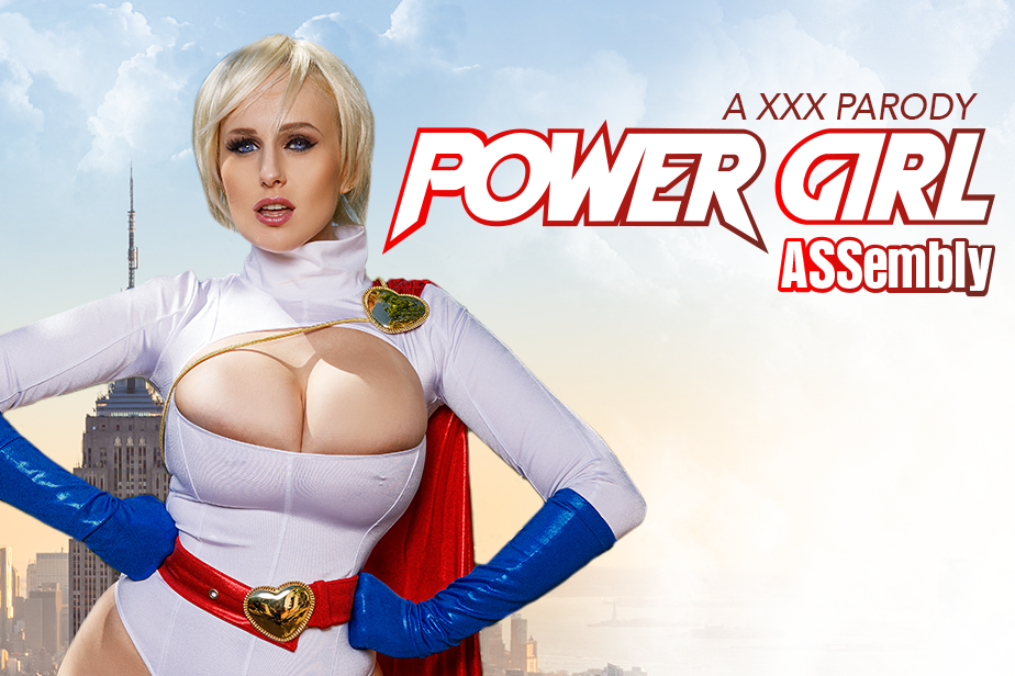 Powergirl ASSembly A XXX Parody VR Porn Video