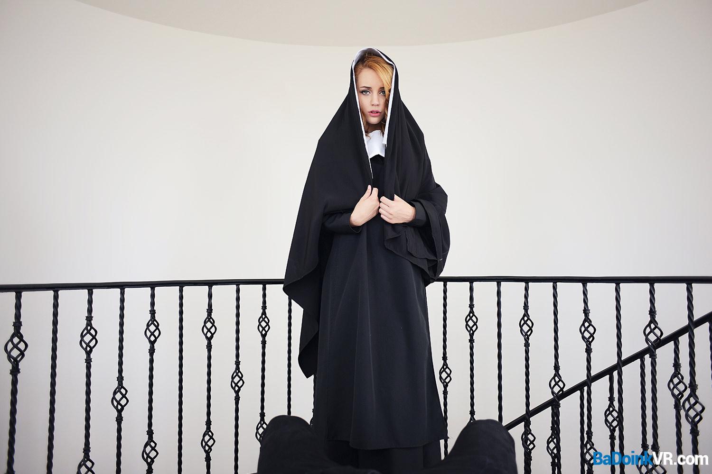 Busting A Nun VR Porn Video