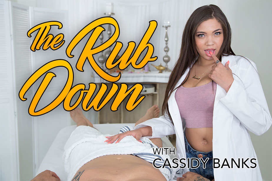 The Rub Down VR Porn Video