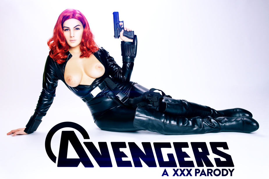 Avengers porn parody black widow cosplay-760