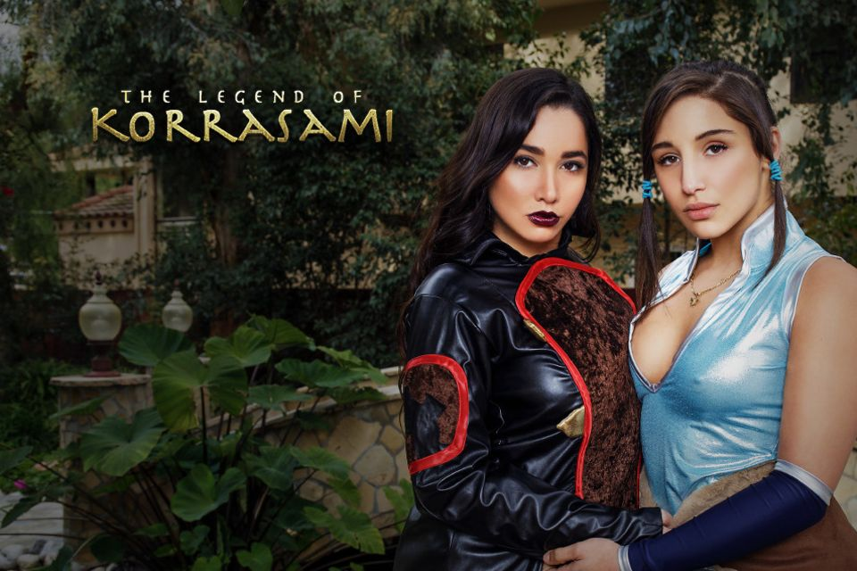 The Legend of Korrasami XXX Parody VR Porn Video