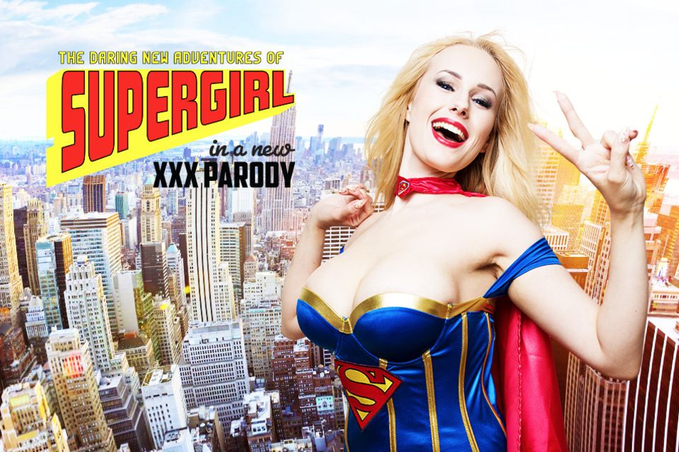 Supergirl A XXX Parody VR Porn Video
