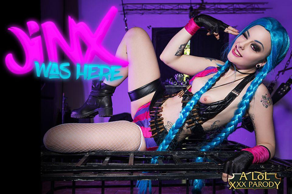 LOL: Jinx XXX Parody VR Porn Video