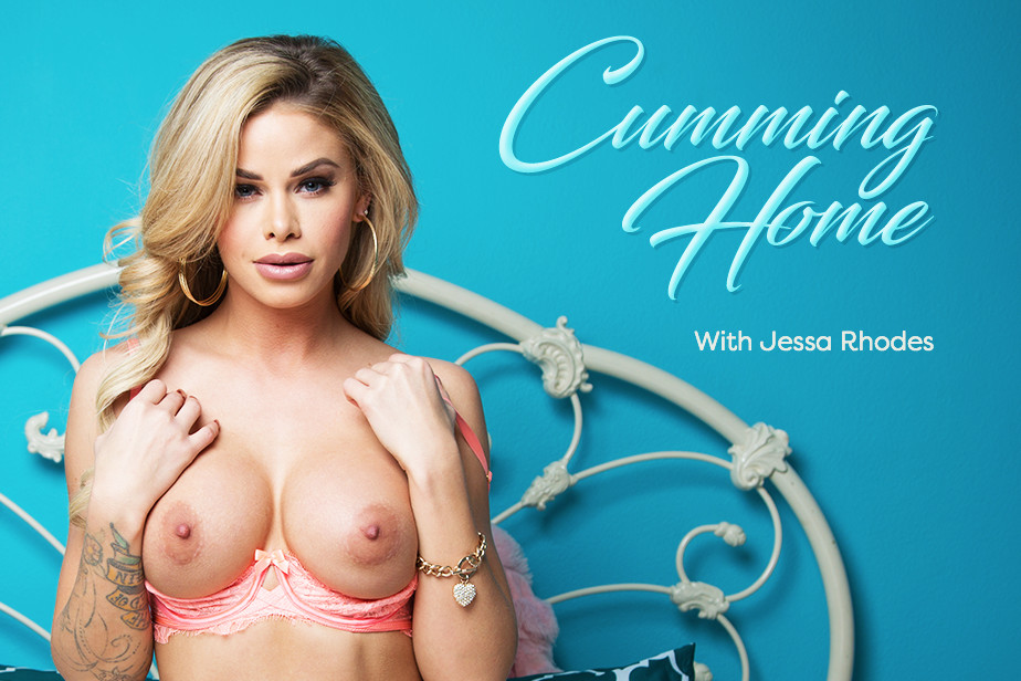 Cumming Home VR Porn Video